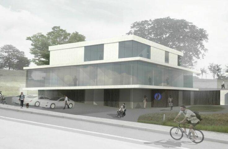 Project in uitvoering: politiehuis Gooik