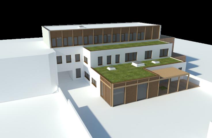 Project in uitvoering: kantoorgebouwen Spoorweglaan